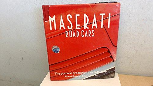 9780850453041: Maserati Road Cars