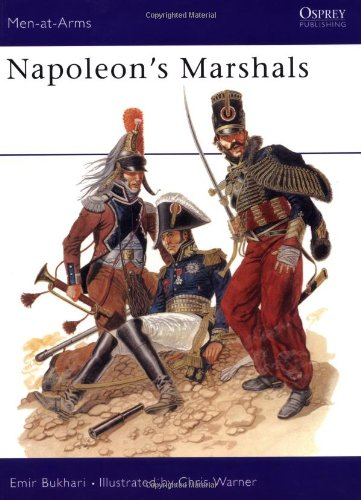 9780850453058: Napoleon's Marshals (Men-at-Arms)