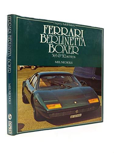 9780850453263: Ferrari Berlinetta Boxer (Osprey autohistory)