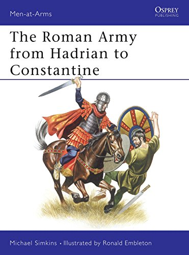 9780850453331: The Roman Army from Hadrian to Constantine (Men at Arms Series, 93)