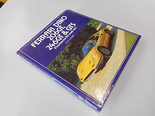 9780850453652: Ferrari Dino 206GT, 246GT & GTS (Osprey Autohistory) Pininfarina V6 Road Cars