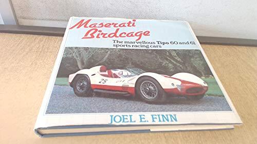 9780850453669: Maserati Birdcage