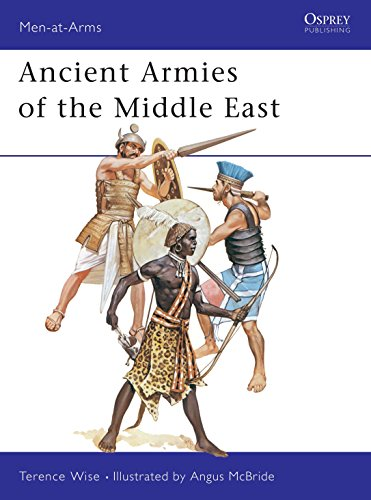 9780850453843: Ancient Armies of the Middle East (Men-at-Arms)