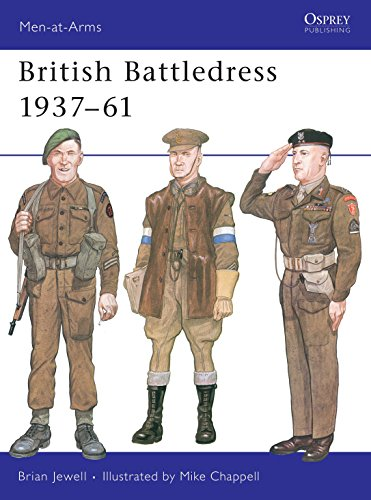 9780850453874: British Battledress 1937-61 (Men at Arms Series, 112)