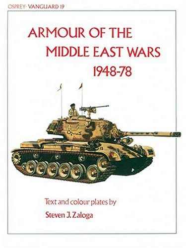 9780850453881: Armour of the Middle East Wars 1948-78 (Vanguard)