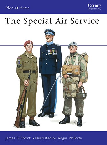 9780850453966: The Special Air Service (Men at Arms Series, 116)
