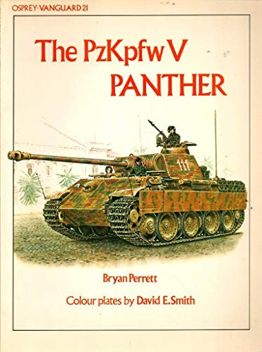 The PzKpfw V Panther (Vanguard) (0850453976) by Perrett, Bryan