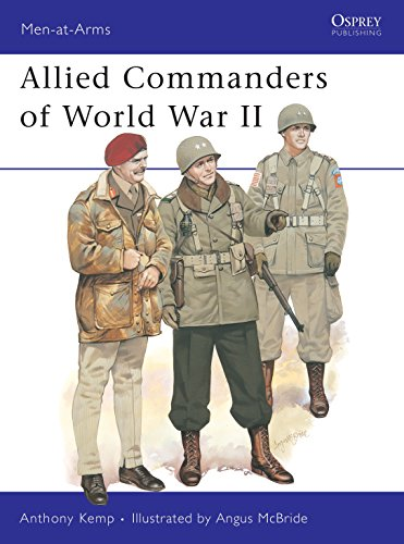 9780850454208: Allied Commanders of World War II (Men-at-Arms)