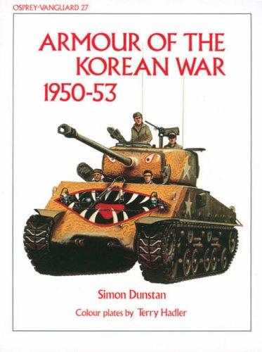 9780850454284: Armour of the Korean War 1950-53 (Vanguard)