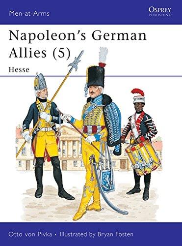 9780850454314: Napoleon's German Allies (5) : Hessen-Darmstadt and Hessen-Kassel (Men at Arms Series, 122)