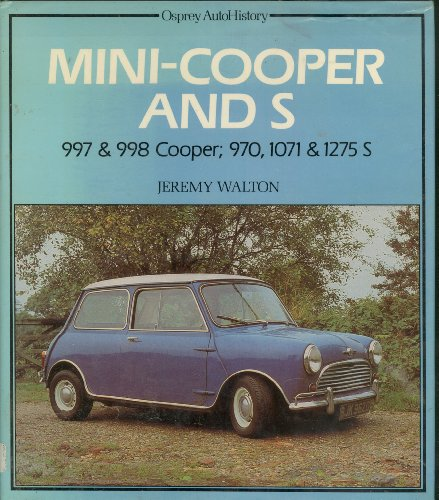 9780850454383: Mini Cooper and S (Osprey autohistory)
