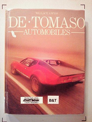 9780850454406: De Tomaso Automobiles