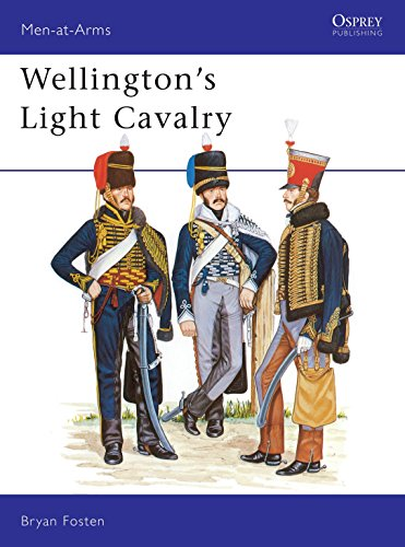 Wellington's Light Cavalry (Men-at-Arms) (0850454492) by Bryan Fosten