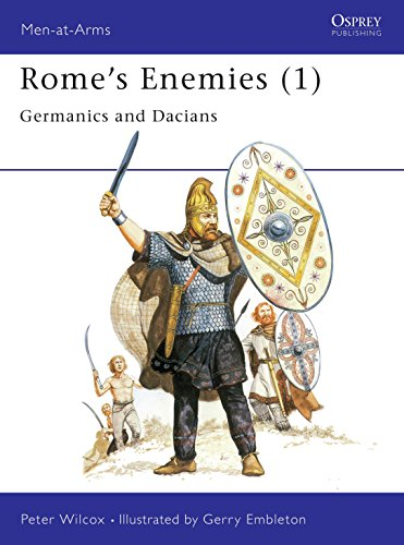 9780850454734: Rome's Enemies (1): Germanics and Dacians (Men at Arms Series, 129)