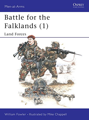 Battle for the Falklands: Land Forces, Naval Forces and Air Forces (3 Vols.)