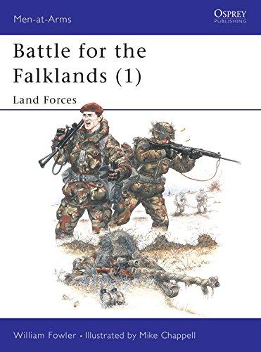 9780850454826: Battle for the Falklands (1) : Land Forces (Men-At-Arms Series, 133)