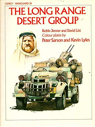 9780850454840: The Long Range Desert Group (Vanguard)