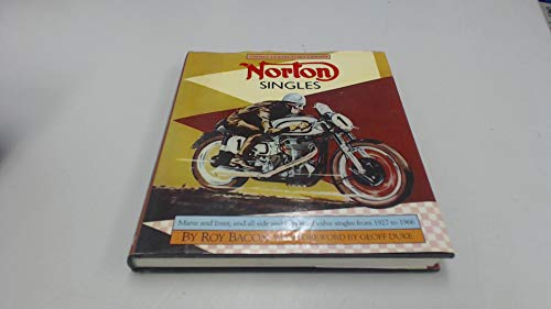 9780850454857: Norton singles: Manx and Inter, and all side and overhead valve singles from 1927 to 1966 (Osprey collector's library)