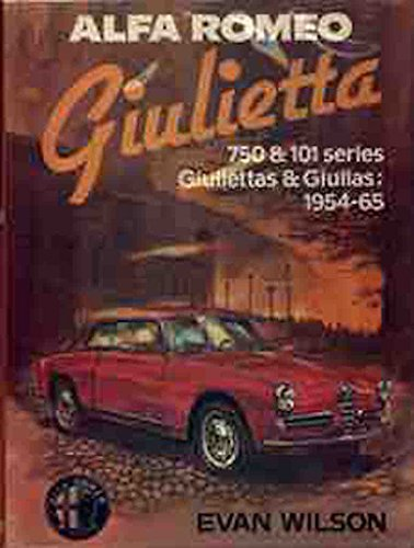 9780850454963: Alfa Romeo Giulietta (Osprey classic library)