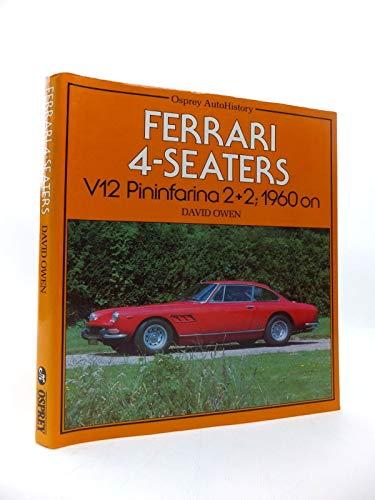 9780850454970: Ferrari 4 Seaters V12 Pininfarina 2+2 1960 on