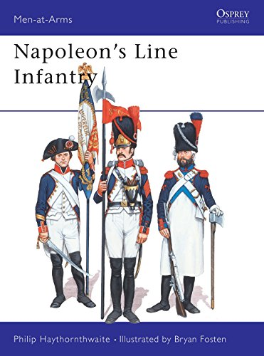 9780850455120: Napoleon's Line Infantry (Men at Arms Series, 141)