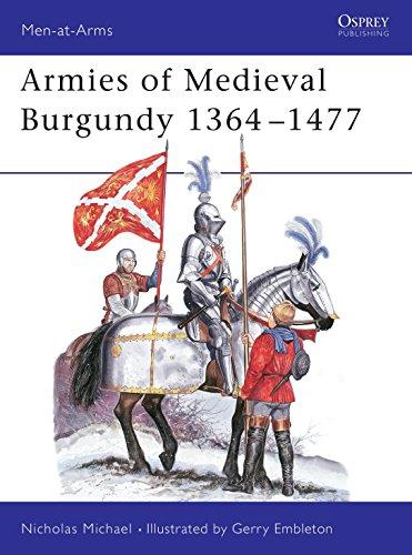 9780850455182: Armies of Medieval Burgundy, 1364-1477 (Men-at-Arms)