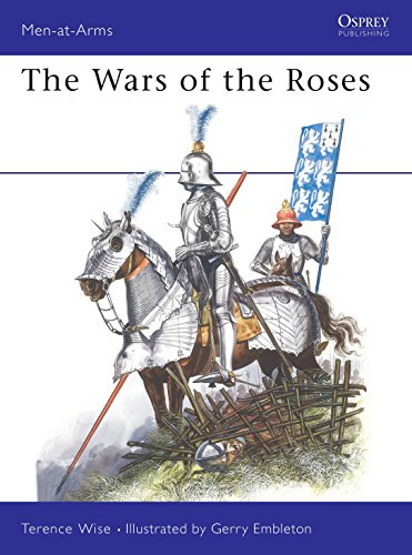 9780850455205: The Wars of the Roses (Men at Arms Series, 145)