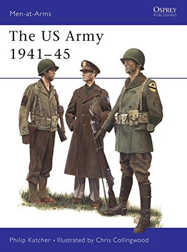 9780850455229: U.S. Army 1941-45 (Men at Arms Series, 70)