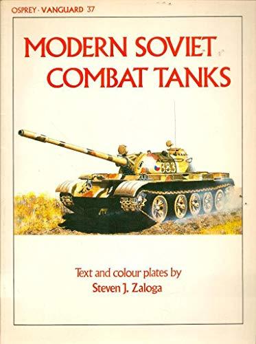 9780850455250: Modern Soviet Combat Tanks (Vanguard)