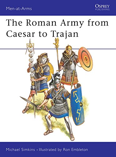 9780850455281: The Roman Army from Caesar to Trajan (Men-at-Arms)