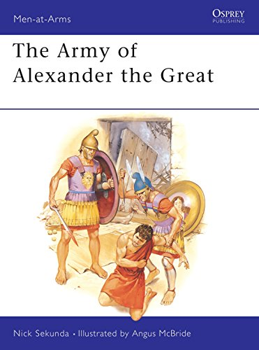9780850455397: The Army of Alexander the Great (Men-at-Arms)