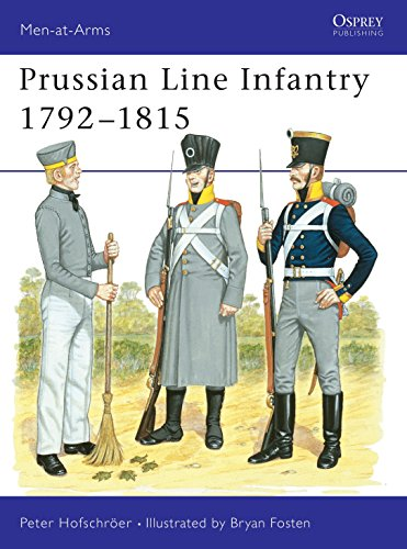 Prussian Line Infantry 1792?1815 (Men-at-Arms) (Vol 2): Peter Hofschröer