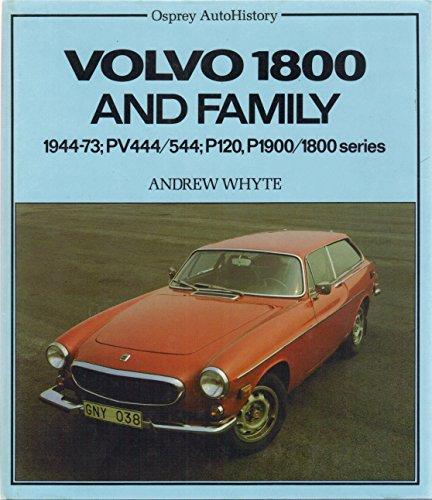 9780850455557: Volvo 1800 Autohistory