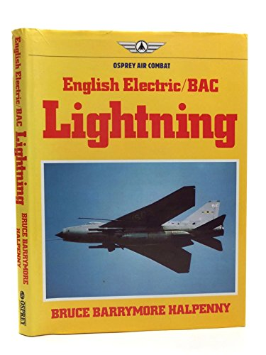 English Electric/BAC Lightning: Halpenny, Bruce Barrymore