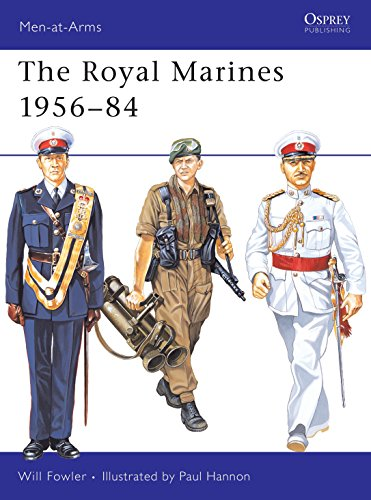 9780850455687: The Royal Marines 1956-84 (Men-at-Arms)