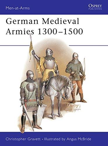 9780850456141: German Medieval Armies 1300–1500 (Men-at-Arms)