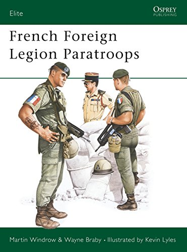 9780850456295: French Foreign Legion Paratroops (Elite)