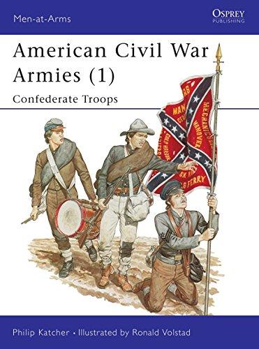 9780850456790: American Civil War Armies (1) : Confederate Troops (Men at Arms Series, 170)