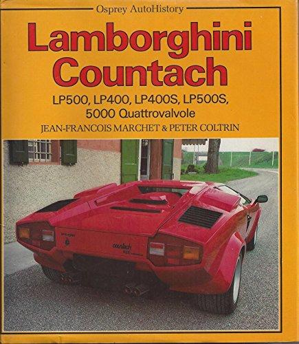 9780850456813: AUTOHISTS LAMBORGHINI COUNTACH (NE (Auto History S.)