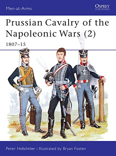 9780850456837: Prussian Cavalry of the Napoleonic Wars (2): 1807-15