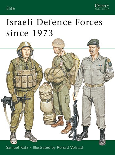 9780850456875: Israeli Defence Forces Since 1973 (Elite)
