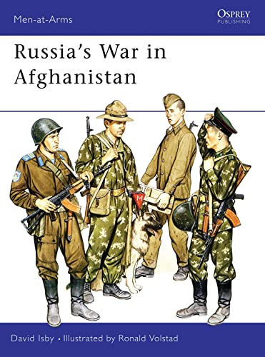9780850456912: Russia's War in Afghanistan (Men-at-Arms)