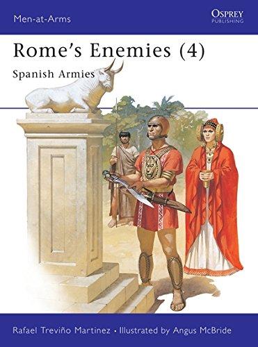 9780850457018: Rome's Enemies (4) : Spanish Armies 218-19 BC (Men at Arms Series, 180)