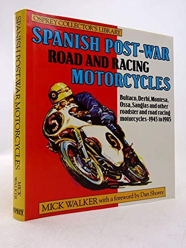 9780850457056: Spanish Postwar Motor Cycles (Osprey collector's library)