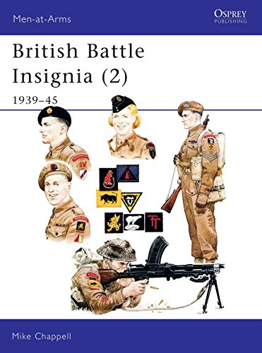 9780850457391: British Battle Insignia (2): 1939–45 (Men-at-Arms) (Bk.2)