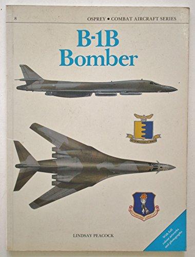 B-1B Bomber - Osprey Combat Aircraft Series - 08: Peacock, Lindsay