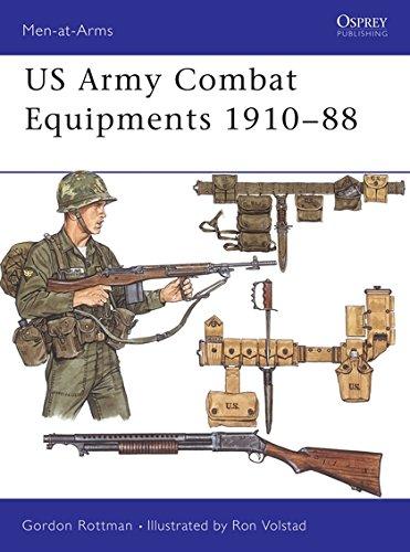 9780850458428: US Combat Equipments, 1910-88 (Men-at-Arms)