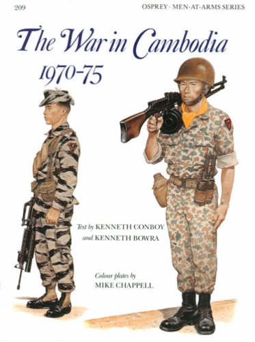 9780850458510: The War in Cambodia 1970-75 (Men-at-Arms)