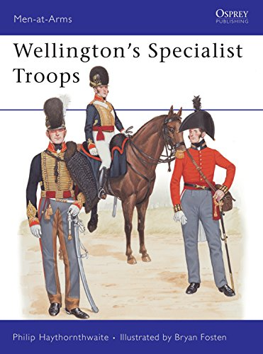 9780850458626: Wellington's Specialist Troops (Men-at-Arms)