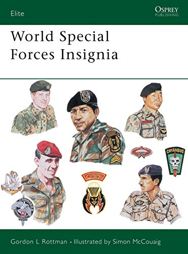9780850458657: World Special Forces Insignia (Elite)